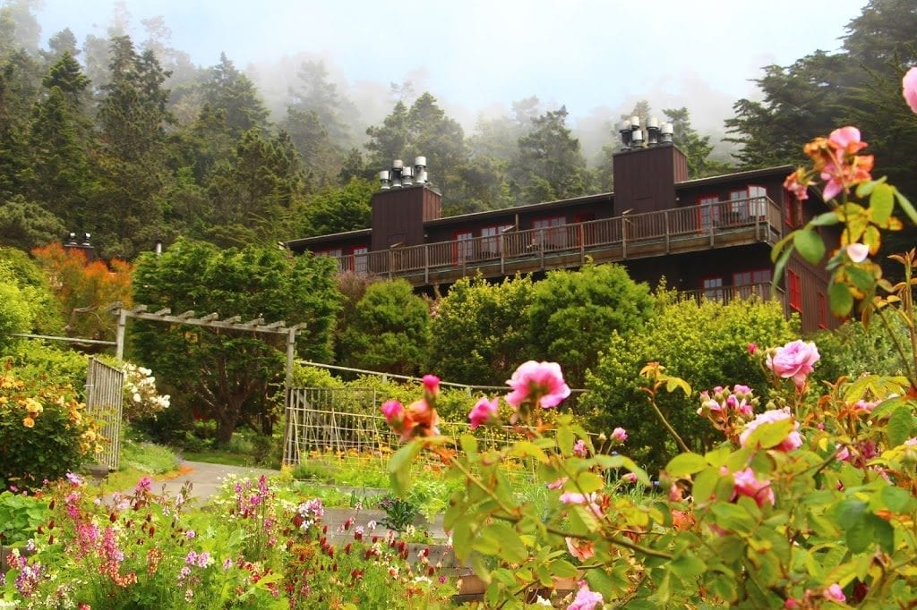 Stanford Inn by the Sea on the Mendocino Coast