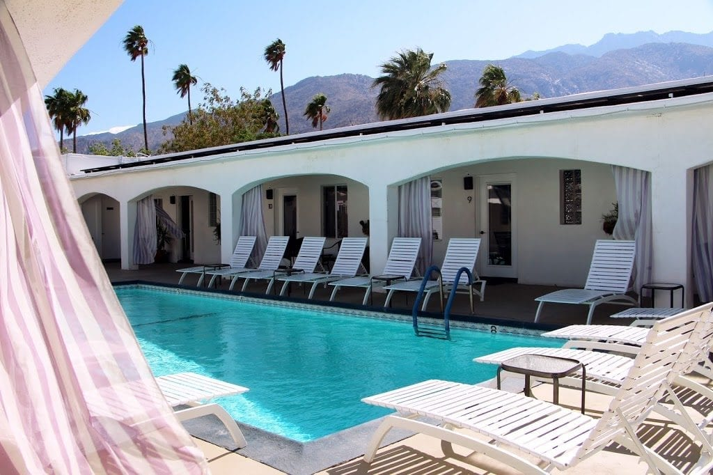 Courtyard Pool at The Westcott Palm Springs