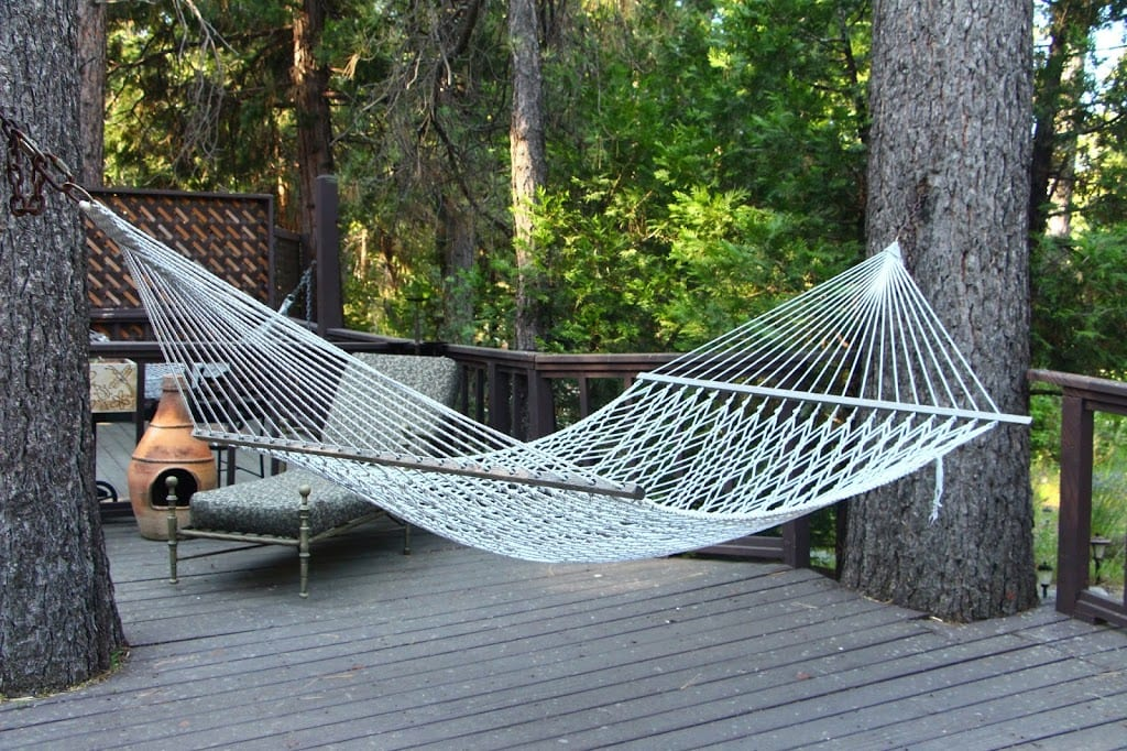 Hammock at Strawberry Creek Inn