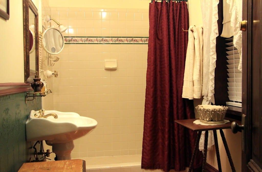 Private bath for room #10