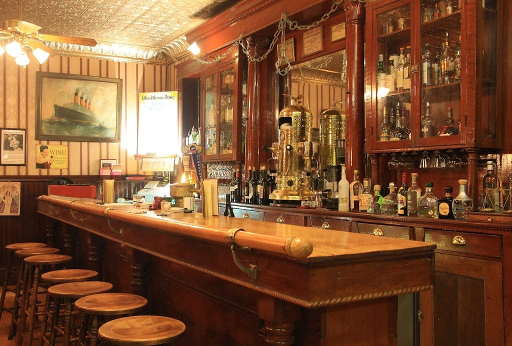 Gold Rush Saloon at the 1859 Historic National Hotel
