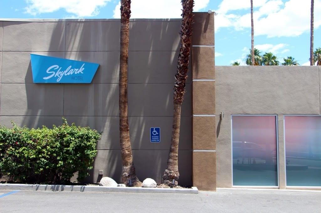 Skylark Hotel entrance