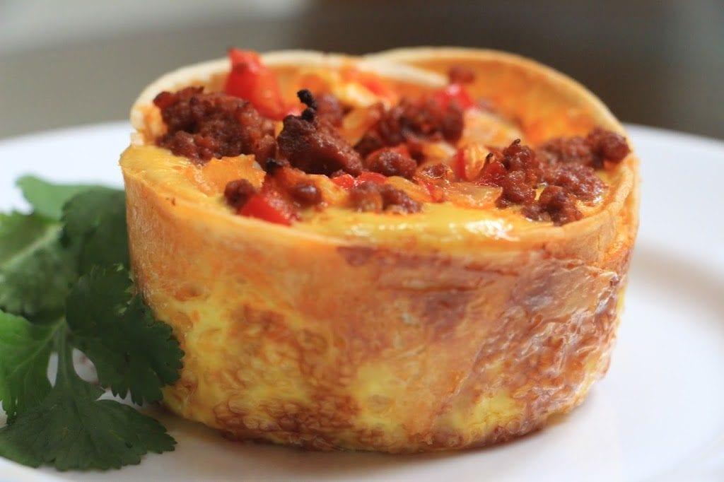 Mexican Egg Torta