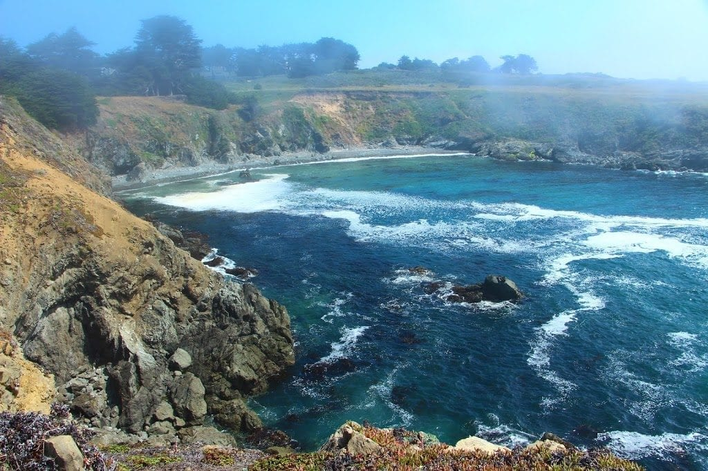 Mendocino Headlands State Park is located just steps from Mendocino Seaside Cottage