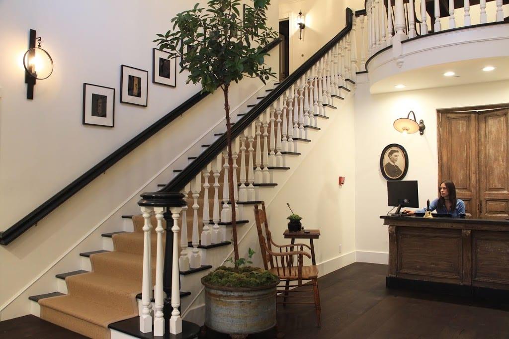 Lobby of the Ballard Inn