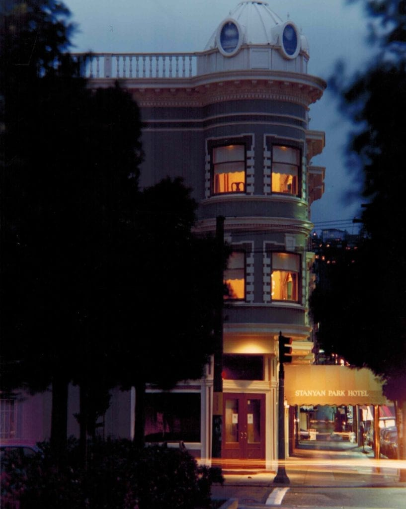 Stanyan Park Hotel Cabbi