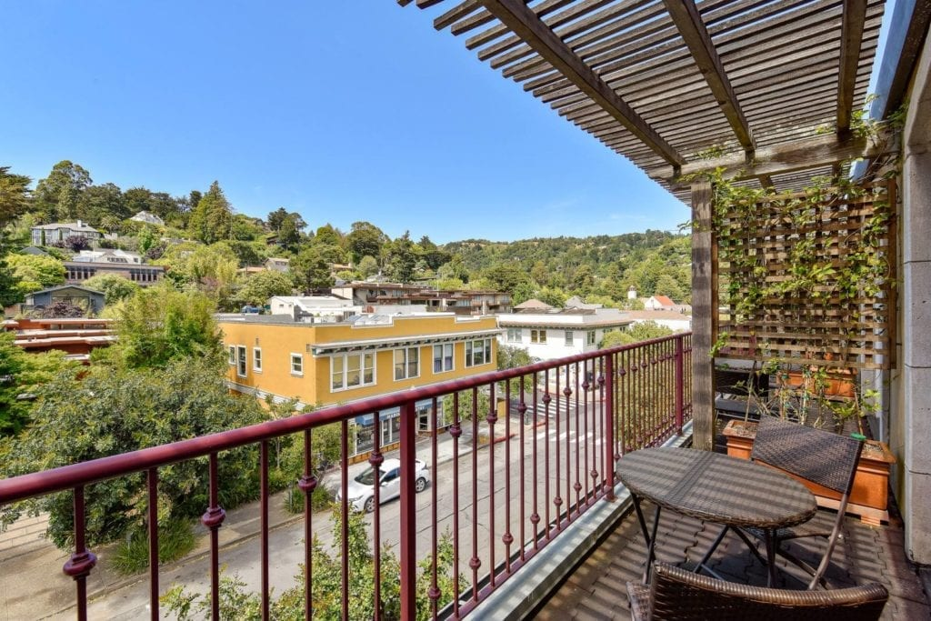 View from the Mill Valley Inn