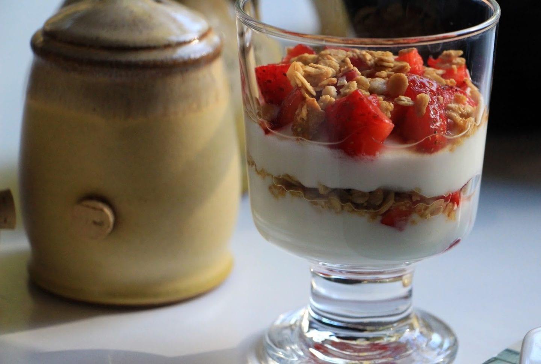 Lucinda's Country Inn's Strawberry Yogurt Parfait