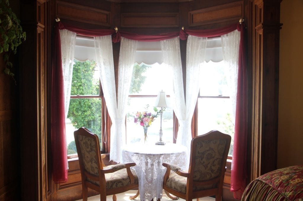 The Bessie Strauss Suite at the Headlands Inn Bed & Breakfast in Mendocino Village