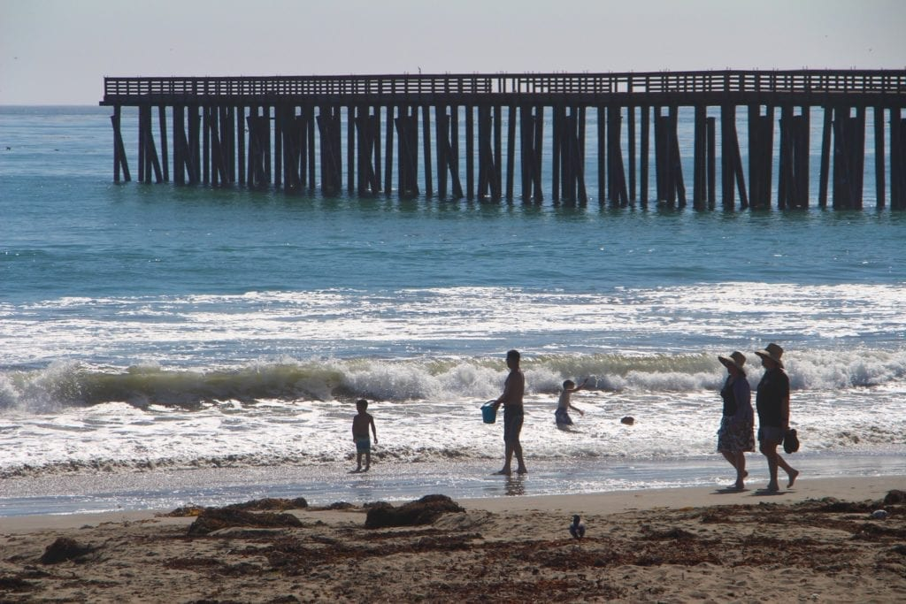 Cayucos State Beach and Pier