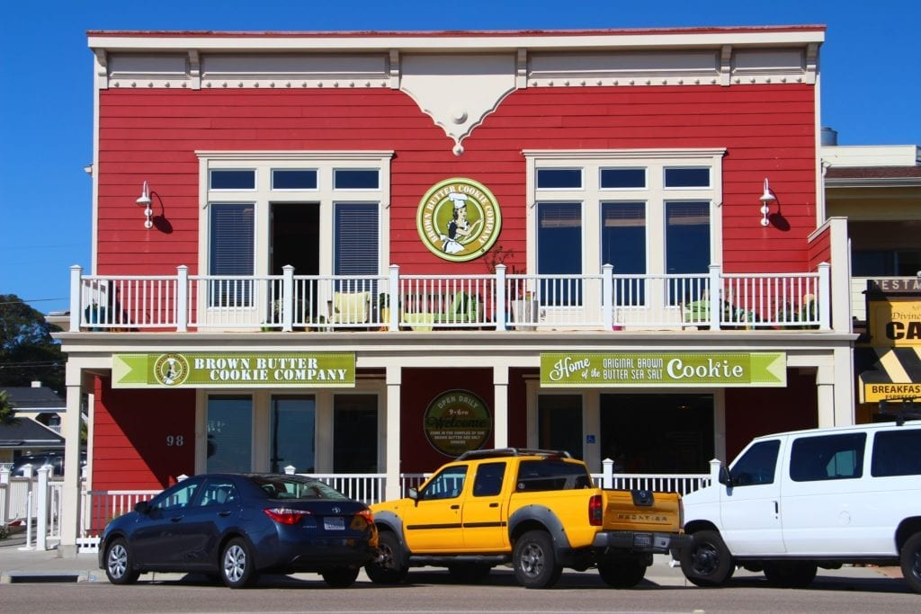 Brown Butter Cookie Company in Cayucos