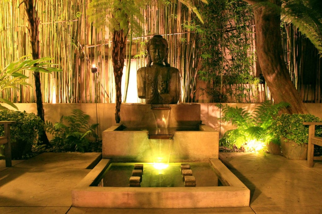 Meditation Garden at Tradewinds Carmel