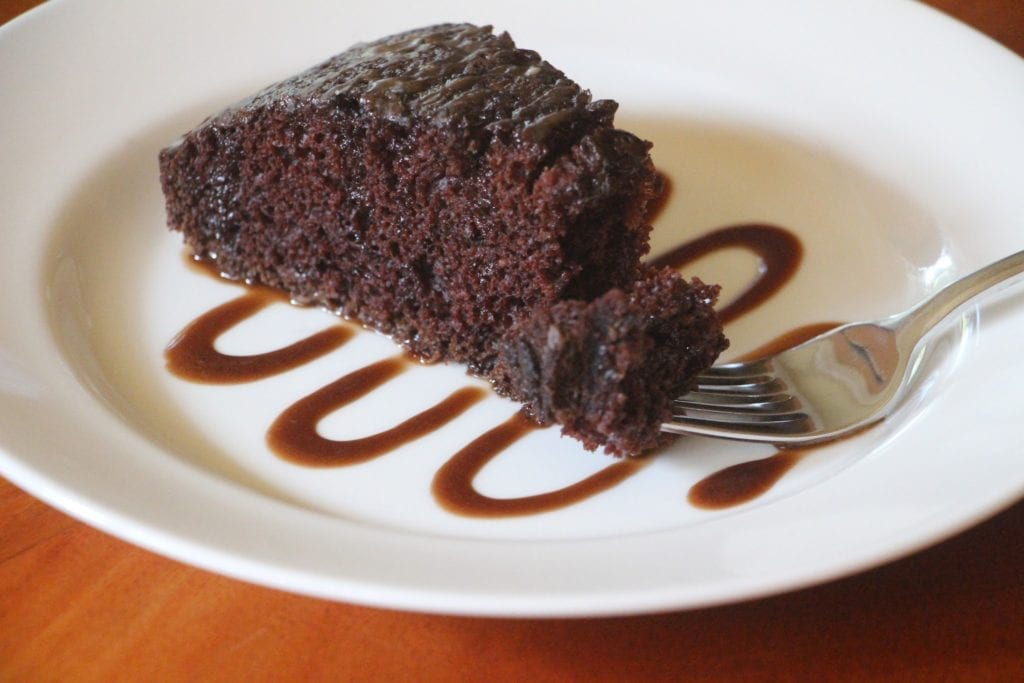 Best Friends Chocolate Cake
