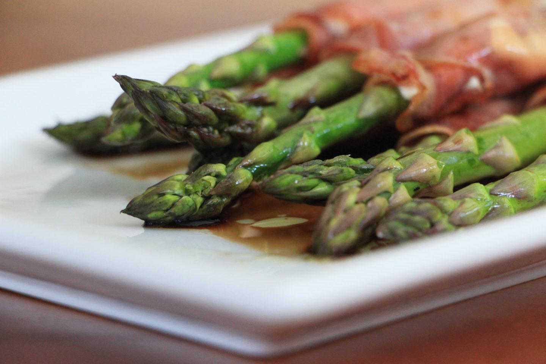 Santa Ynez Inn's Chevre and Prosciutto Grilled Asparagus