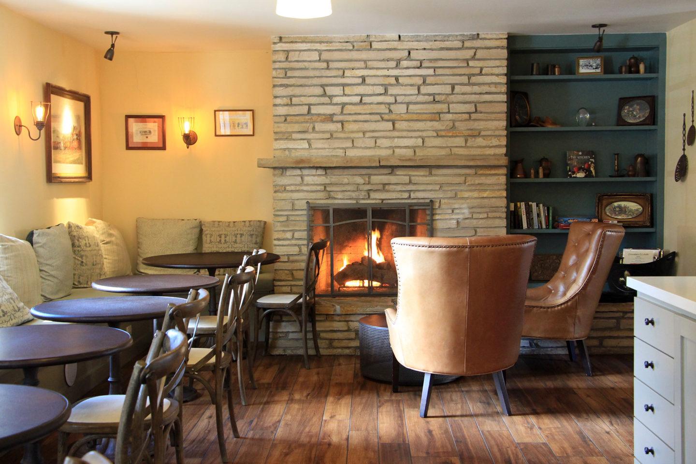 The lounge at the Coachman's Inn