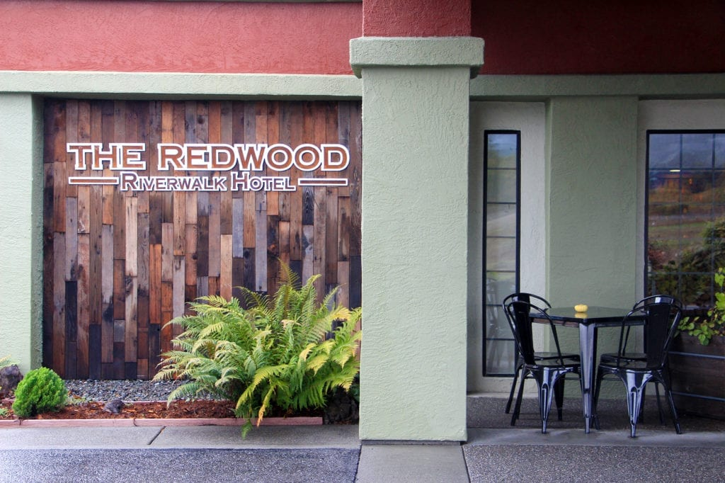 The Redwood Riverwalk Hotel