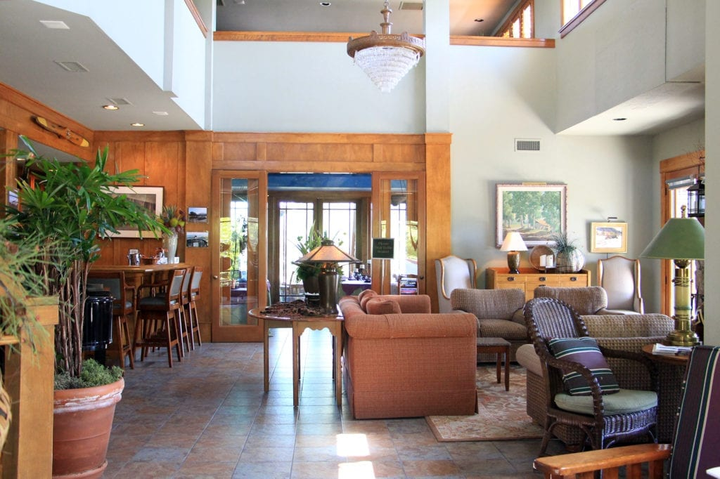 Great room at Orchard Hill Country Inn