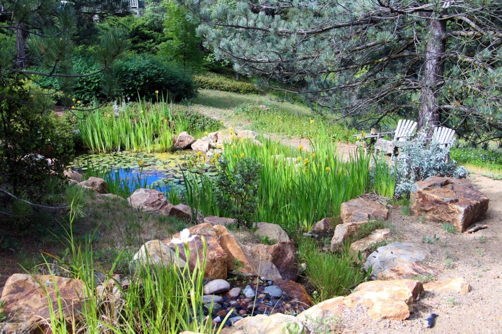 Pond at Orchard Hill Country Inn