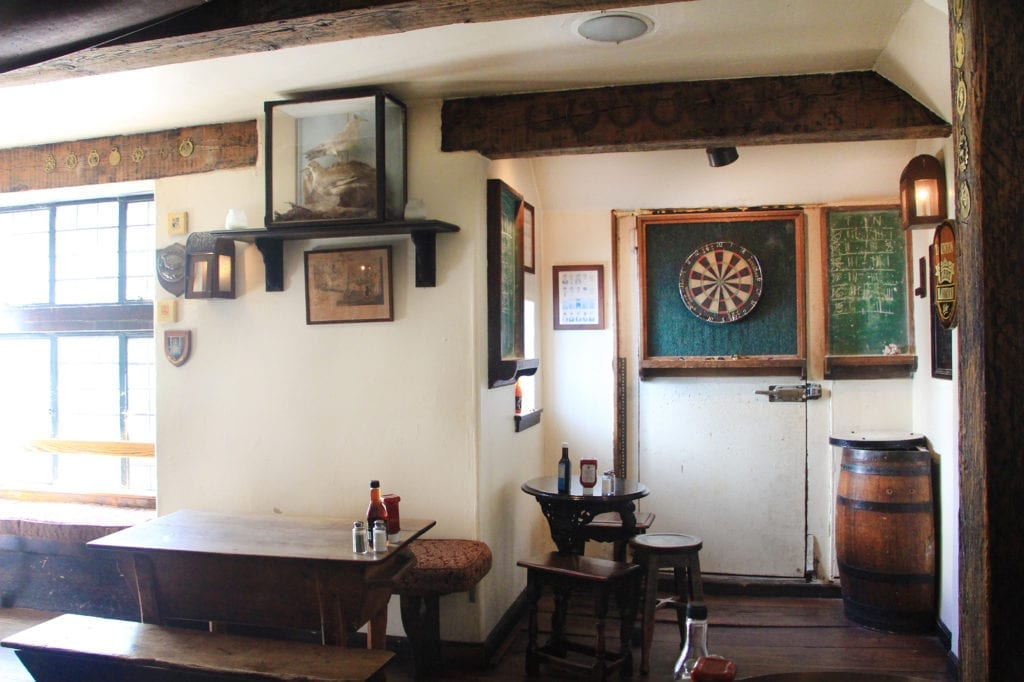 Bar at The Pelican Inn