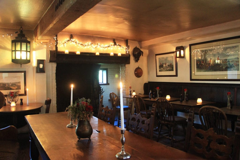 Dining Room at The Pelican Inn
