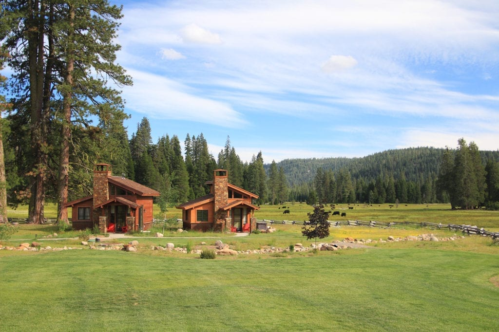 Highlands Ranch Resort cottages and Childs Meadow