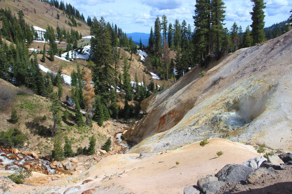 Sulphur Works at Lassen Volcanic National Park