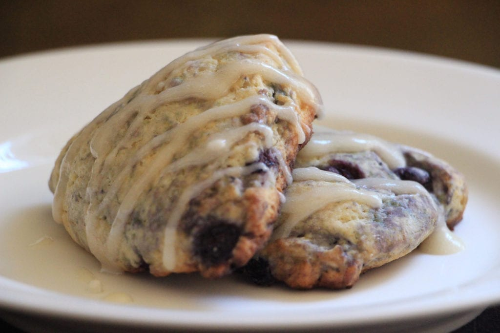 Amador Havest Inn's Blueberry Scones