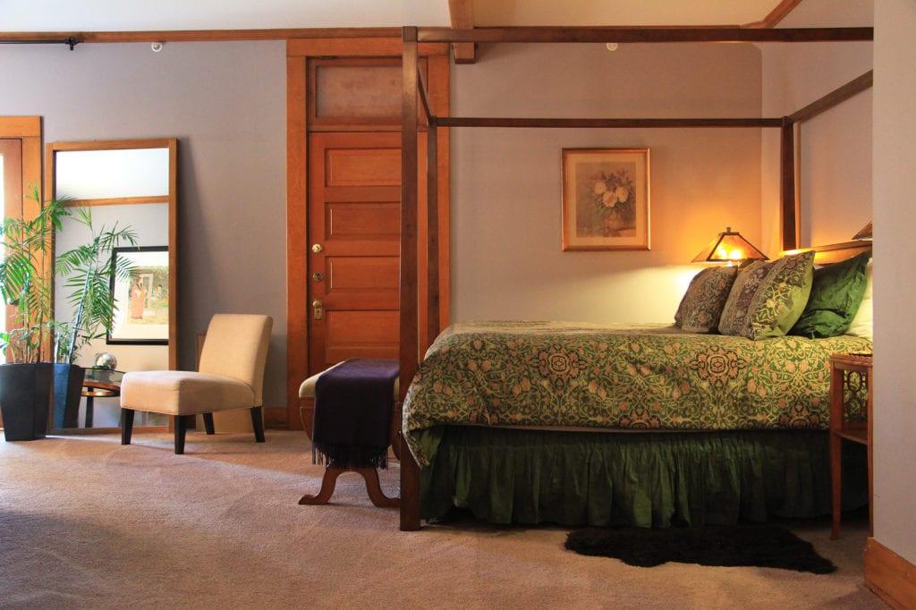 Copper Suite at the McCloud Hotel