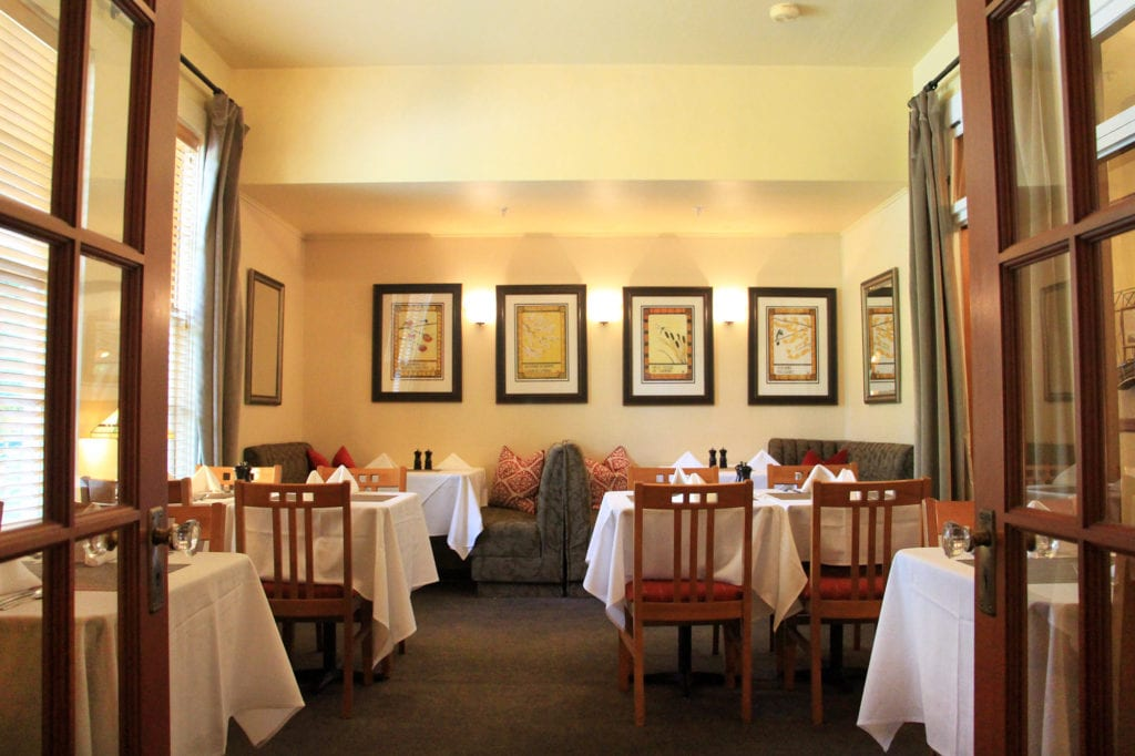 Sage Restaurant at the McCloud Hotel