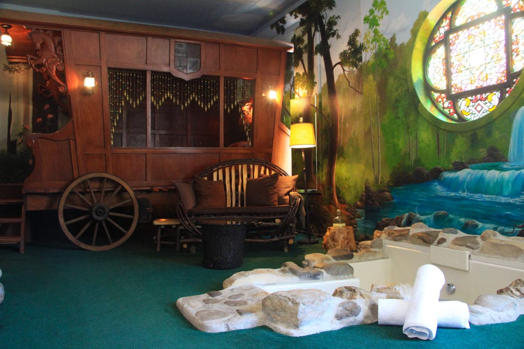 Gypsy Suite at the Victorian Mansion