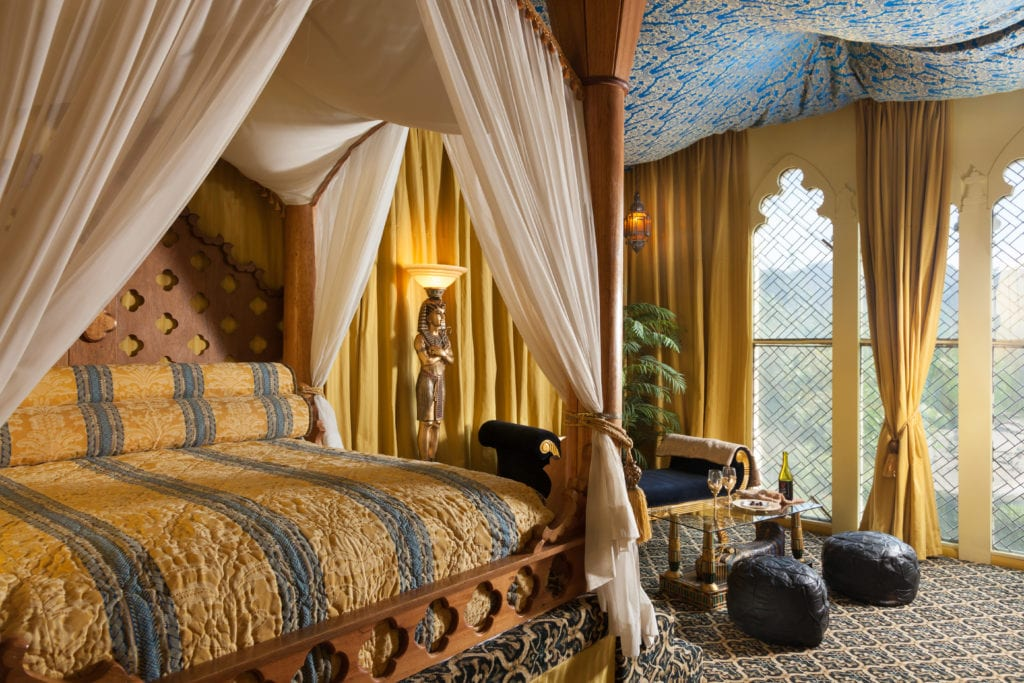 Egyptian Suite at the Victorian Mansion