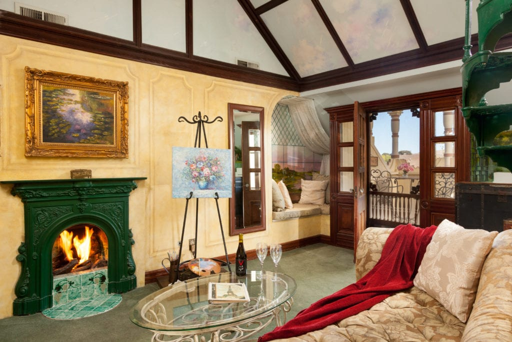 French Suite at the Victorian Mansion