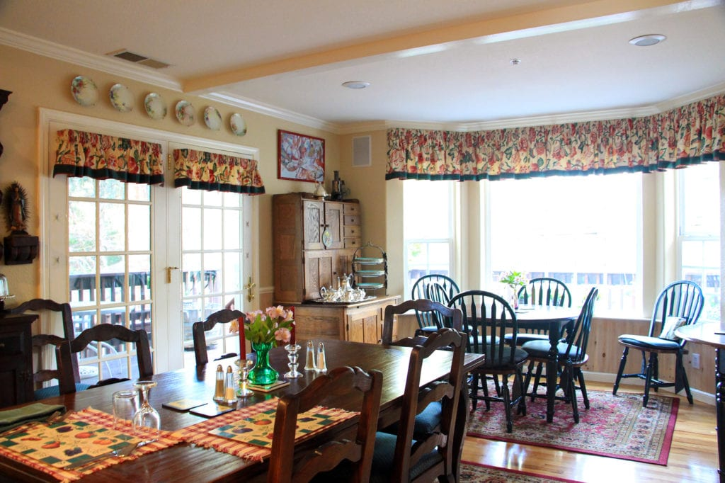 Dining Room at the McCaffrey House