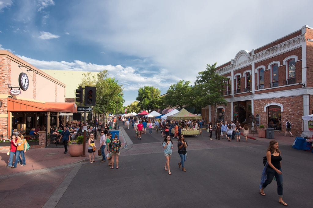 Thursday Night Market in downtown Chico