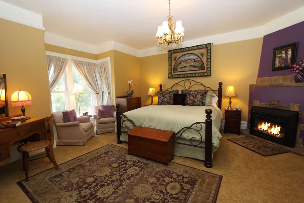 Hennessey House guest rooms