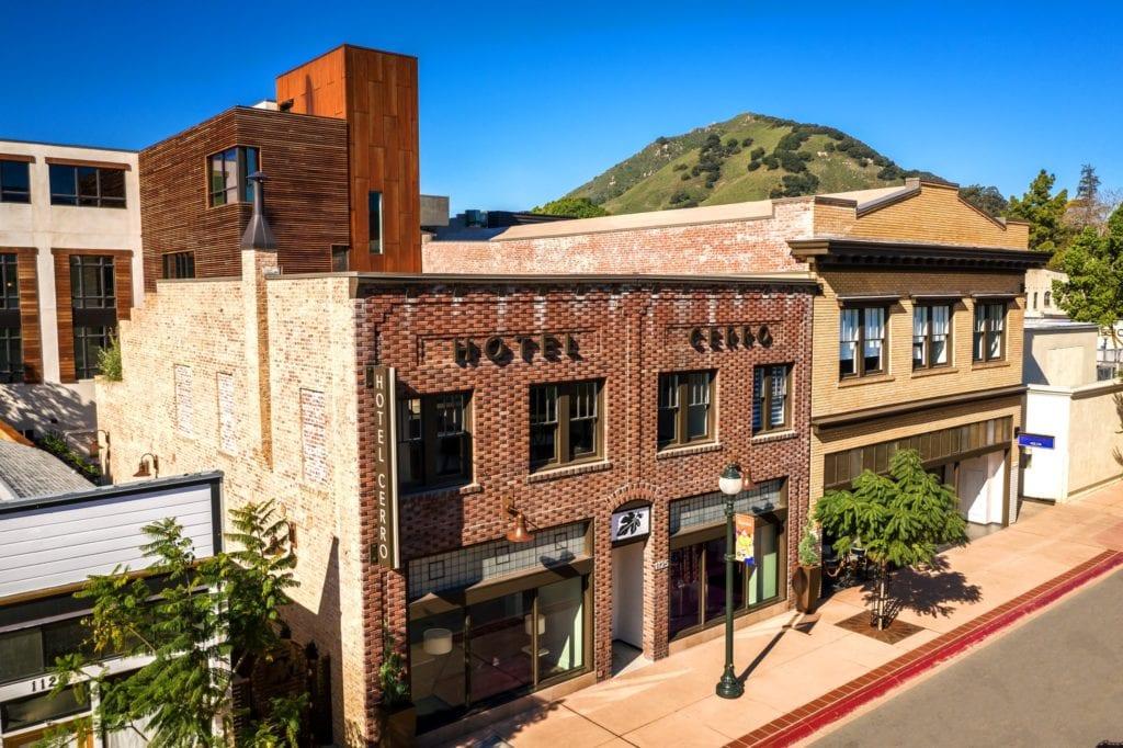 Hotel Cerro exterior