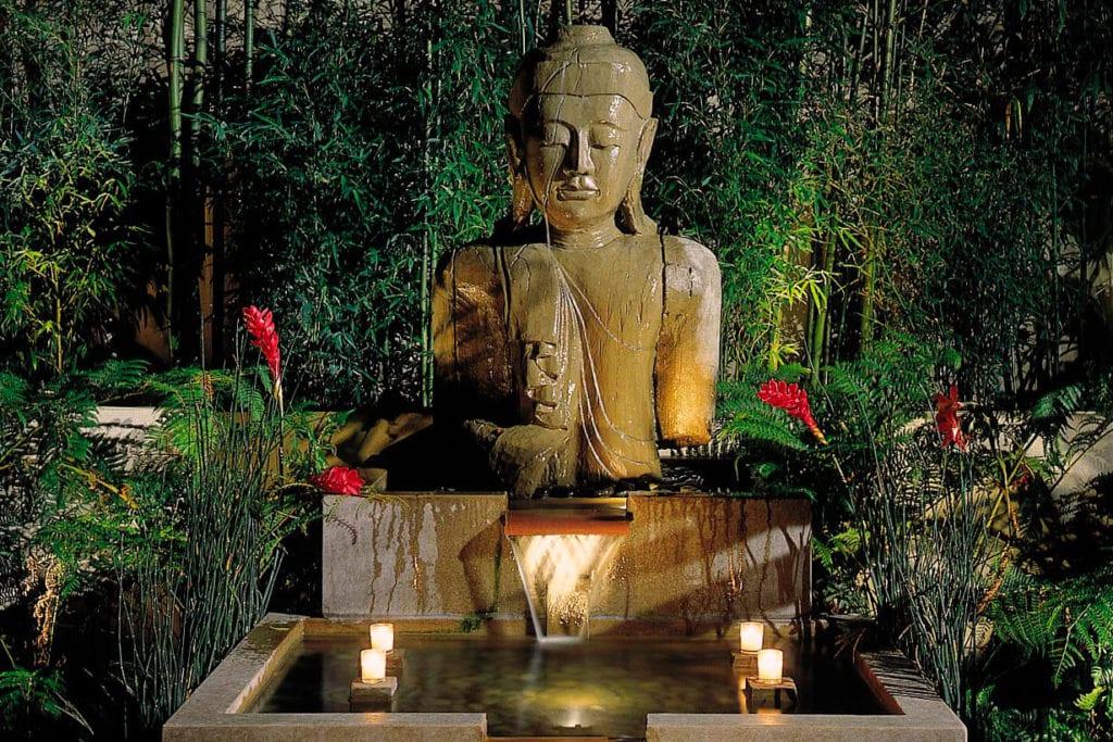 Meditation garden at Tradewinds Carmel