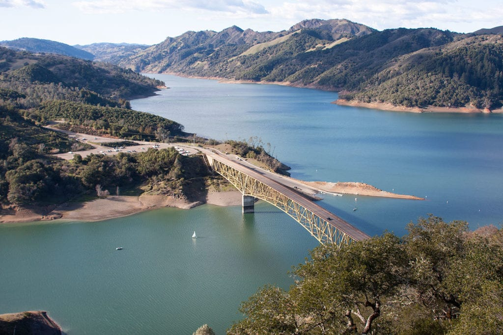 Lake Sonoma Reservoir
