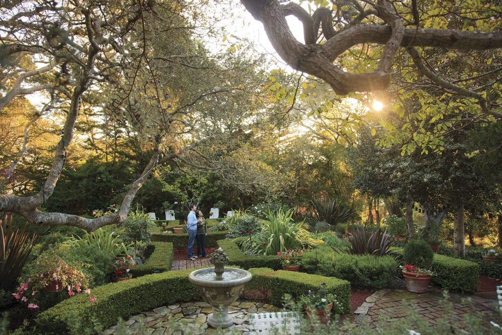 Gardens at Old Monterey Inn