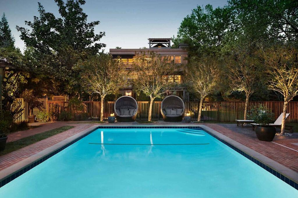 Gaige House + Ryokan pool