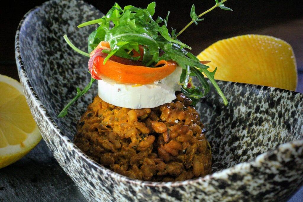 Hotel Cerro's Truffle Carrot Risotto