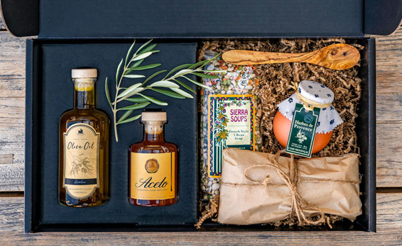 The Europa Table curated olive oils and vinegars
