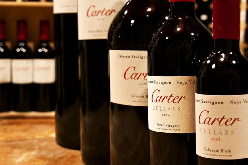 Carter Cellars wine
