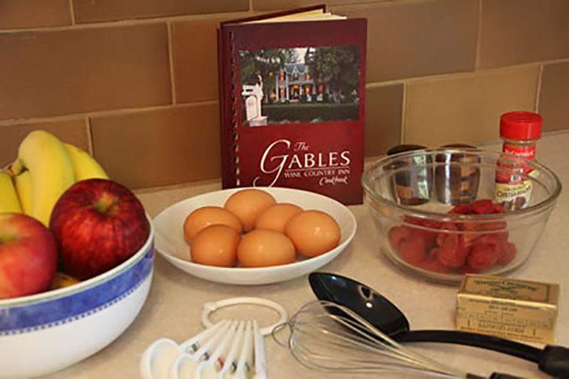 The Gables Wine Country Inn Cookbook