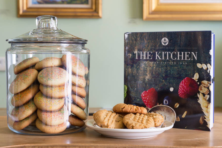 The Kitchen at the Four Sisters Inns cookbook