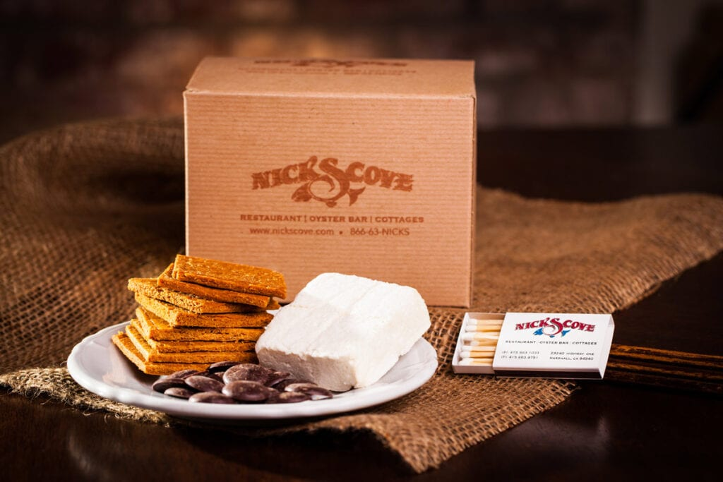 Nick's Cove s'mores kit