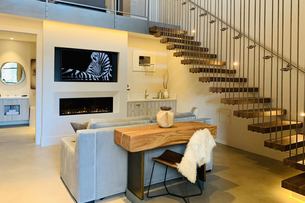 Loft suite at the R INN NAPA