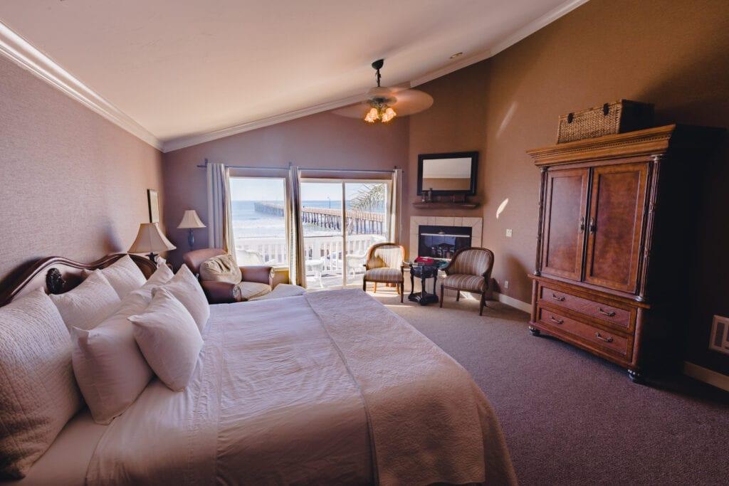 Room 202 at On the Beach Bed & Breakfast Inn
