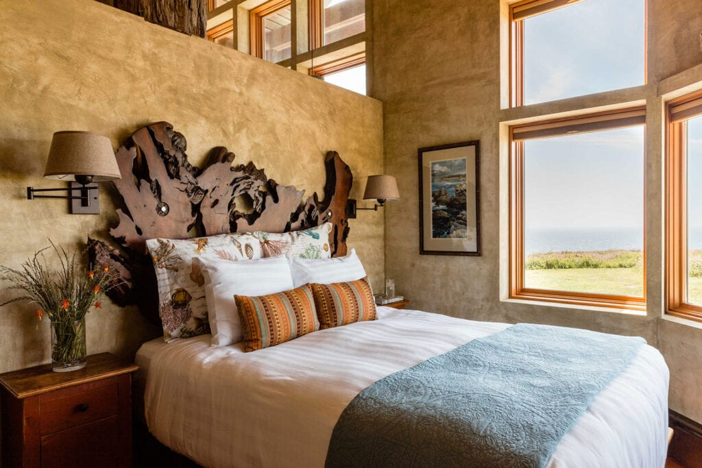 Grove Suite inside the Inn at Newport Ranch's Redwood House