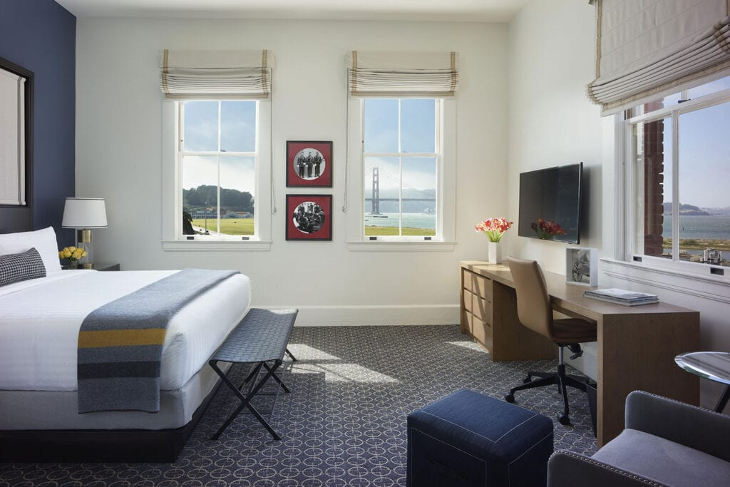 King Suite at the Lodge at the Presidio